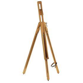 Мольберт «Тренога», 170 см, с держателями для холста на ножках, бук