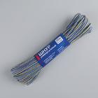 Шнур универсальный с сердечником d=3 мм, полипропилен, длина 20 м, цвет МИКС