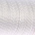 Нить кручёная 2-х прядная ПП, d=1,3 мм, 50 м, цвет белый - фото 4637809