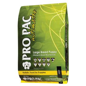 Сухой корм Pro Pac Ultimates Holistic для крупных щенков, курица/бурый рис, 20 кг.