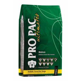 Сухой корм Pro Pac Ultimates Holistic для пожилых собак, курица/бурый рис, 2,5 кг.