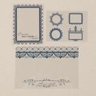Набор ацетатных карточек «Счастье ‒ быть рядом с тобой!», 10 х 17,5 см