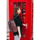 Рюкзак молодёжный, отдел на молнии, наружный карман, эргономичная спинка, цвет бордовый