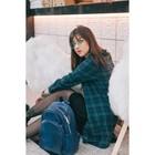 Рюкзак молодёжный, отдел на молнии, наружный карман, эргономичная спинка, цвет синий