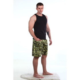 Шорты мужские ШКМ117 МИКС, размер 46