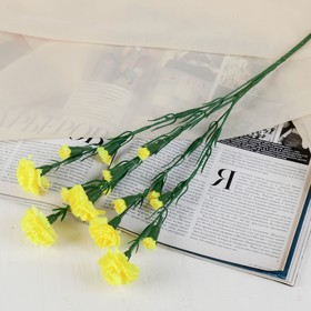 """Artificial flowers """"Yellow spray carnation"""""""