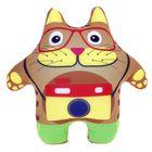 """Мягкая игрушка """"Кот с фотоаппаратом"""""""