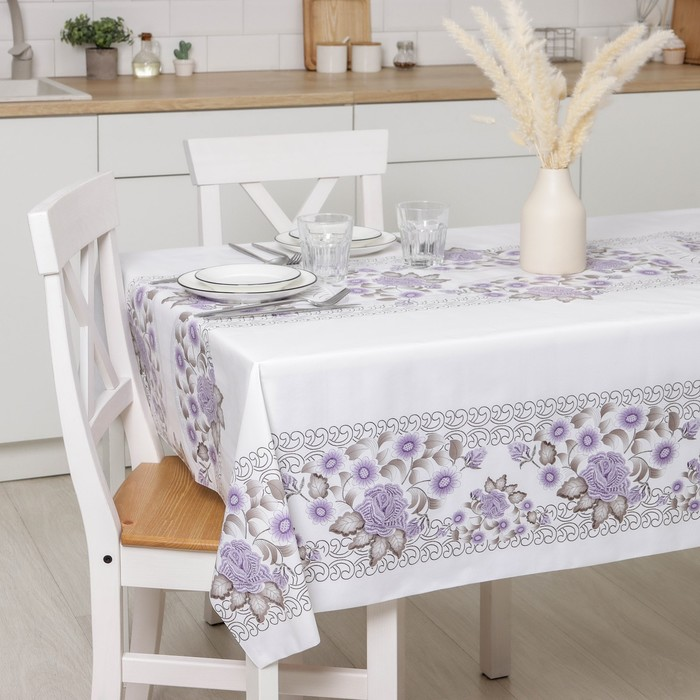 The oilcloth a dining room on a nonwoven basis, width: 137cm, thickness 0.08 mm, roll 20 m