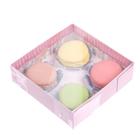Коробка для кондитерских изделий с PVC-крышкой «Прекрасного дня», 12 × 12 × 3,5 см