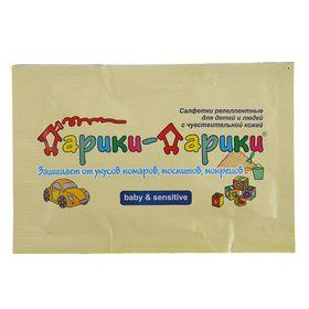 Салфетка репеллентная от комаров для детей Дарики-Дарики от 2-х лет, 1 шт Ош