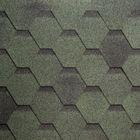 Гибкая Черепица Шинглас, Финская Соната, Зеленый, 1уп. 3м2, 1000х317 мм
