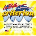Струны для акустической гитары La Bella C500TT Criterion Ultra Light