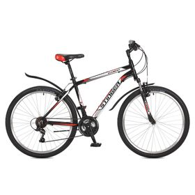 """Велосипед 26"""" Stinger Element, 2017, цвет черный, размер 20"""""""