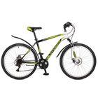 "Велосипед 26"" Stinger Caiman D, 2017, цвет зелёный, размер 16"""