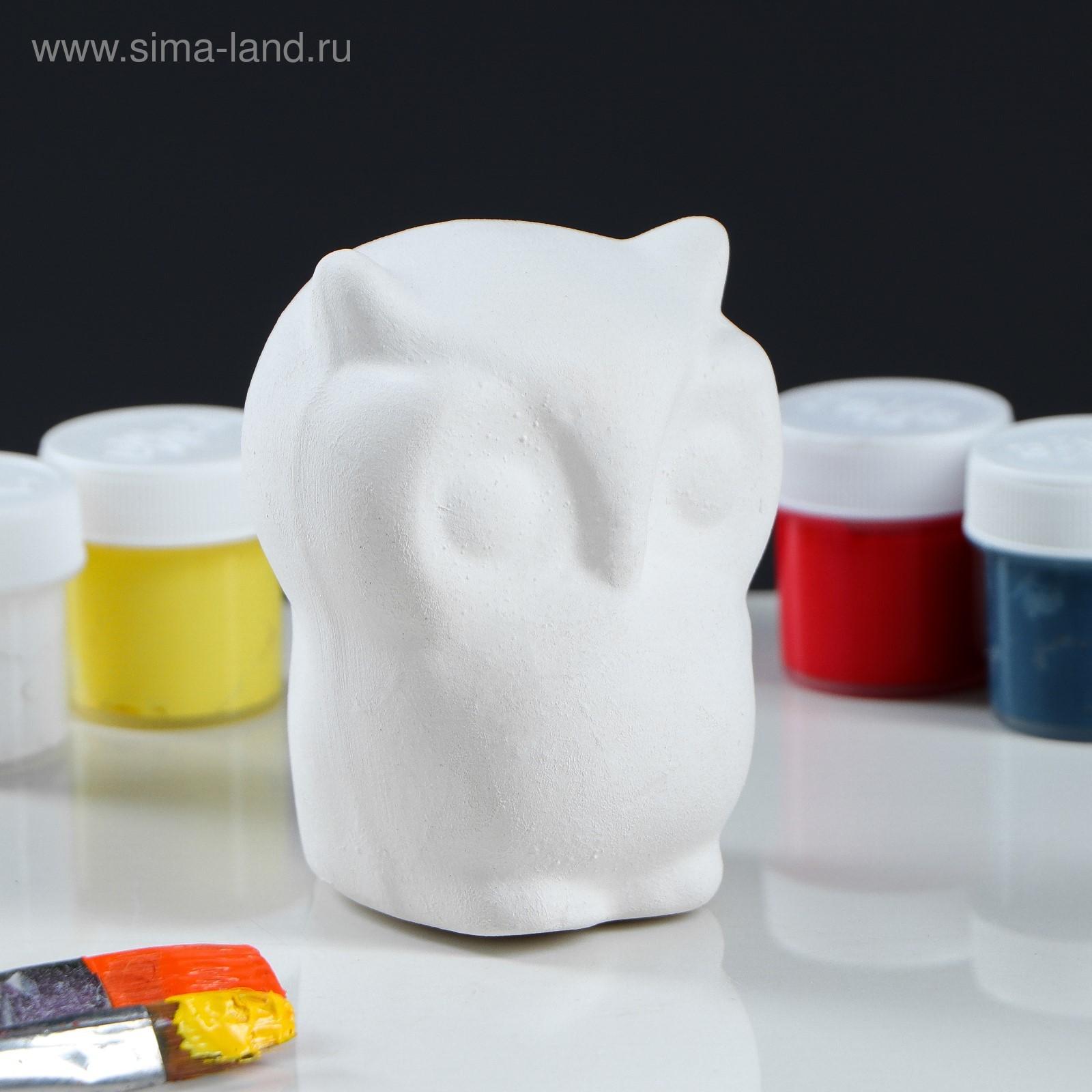 """Фигурка-раскраска """"Сова"""" (2116425) - Купить по цене от 39 ..."""