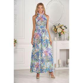 Платье женское, размер 42, рост 170 см, разноцветное