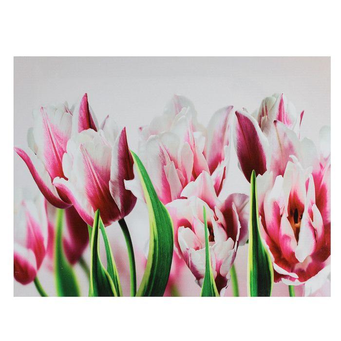 """Картина на подрамнике """"Прекрасные тюльпаны"""""""