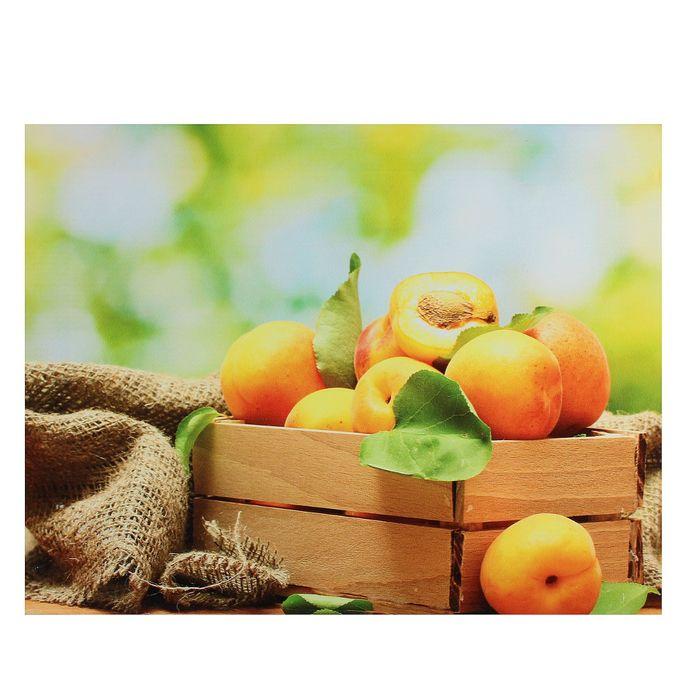 "Картина на подрамнике ""Ящичек с абрикосами"""