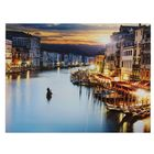 """The picture on the stretcher, """"Evening in Venice"""""""