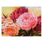 """The picture on the stretcher, """"Bouquet of peonies"""""""