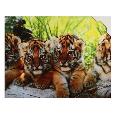 """Картина на подрамнике """"Маленькие тигрята"""""""