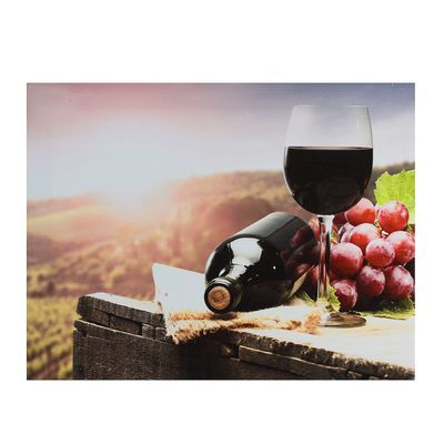 "Картина на подрамнике ""Бокал красного вина"""