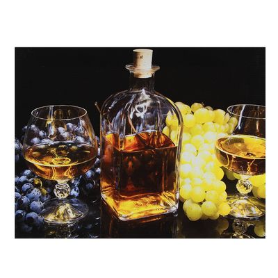 "Картина на подрамнике ""Виноградное вино"""