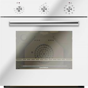 Духовой шкаф Darina 1U BDE 111 707 W, электрический, 50 л, гриль, белый