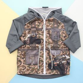 """Куртка для мальчика Collorista """"Герой"""" рост 86-92 см (28), 1,5-2 года"""