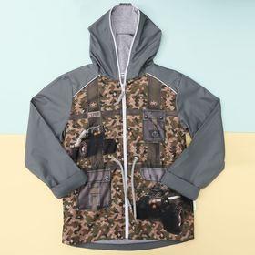 """Куртка для мальчика Collorista """"Герой"""" рост 98-104 см (30), 3-4 года"""