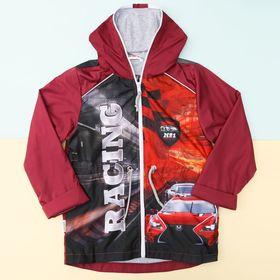 """Куртка детская Collorista """"Racing"""" рост 98-104 см (30), 3-4 года"""