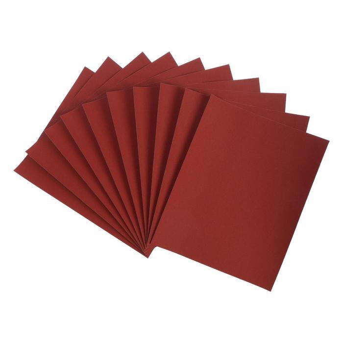 Шкурка шлифовальная в листах LOM на бумажной основе водостойкая 230 х 280, 10 шт, Р1500