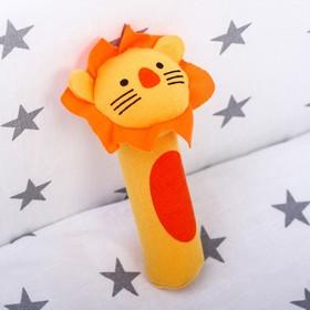Мягкая игрушка с пищалкой «Лёвушка»