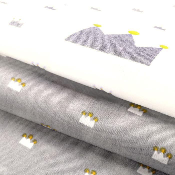 Набор ткани пэчворк «Маленькое царство», 50 × 50 см