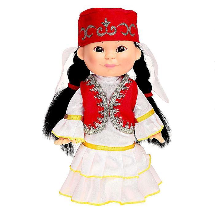 Кукла «Веснушка Алсу», в татарском национальном костюме, 25 см