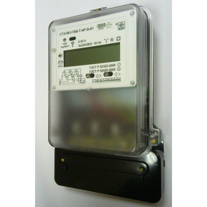 Счетчик АГАТ 3-1.100.0, 3ф, 5-100 А, 1 класс точности, однотарифный