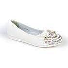 Туфли для девочек арт. 30-160A/12 (белый) (р. 35)