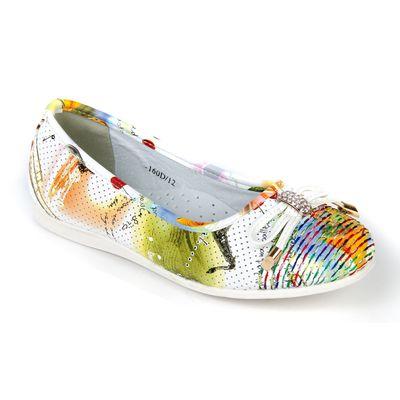 Туфли для девочек арт. 30-160D/12 (разноцвет) (р. 34)