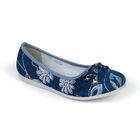 Туфли для девочек арт. 31-133C/12 (голубой) (р. 36)