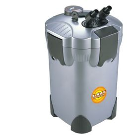 Внешний фильтр BOYU c УФ лампой  для аквариума, 36вт,1100л/ч,  уф лампа 5вт