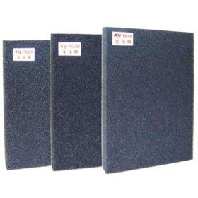 Губка крупнопористая для фильтра, чёрная XY-1028, размер 60 х 45 х 5 см