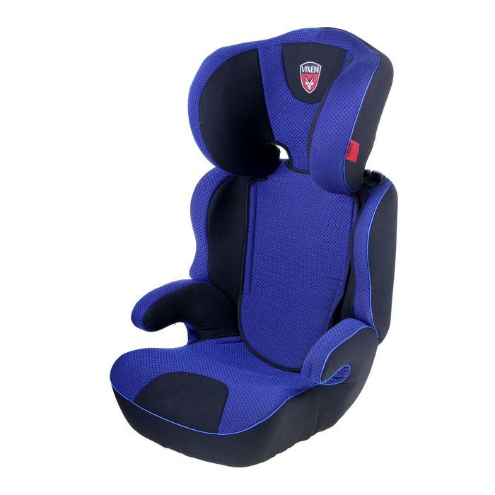 Автокресло-бустер «М2», группа 2-3, цвет синий/чёрный