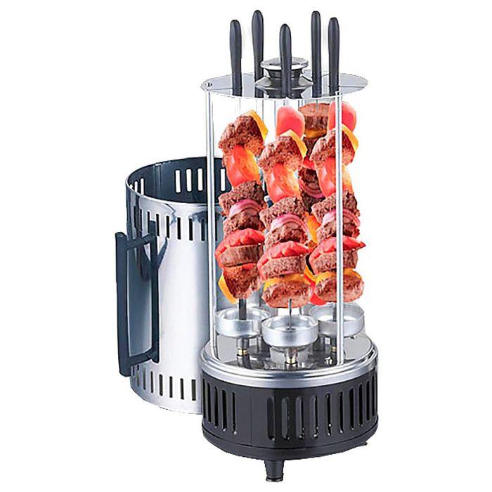 Шашлычница электрическая Centek CT-1460, 1000 Вт, 5 шампуров, поддон для сбора жира