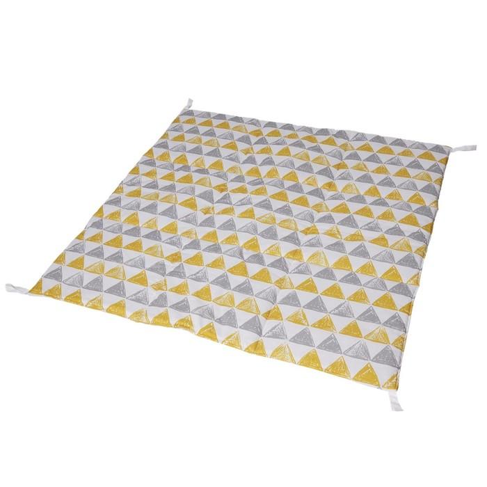 Игровой коврик для вигвама, хлопок, треугольники
