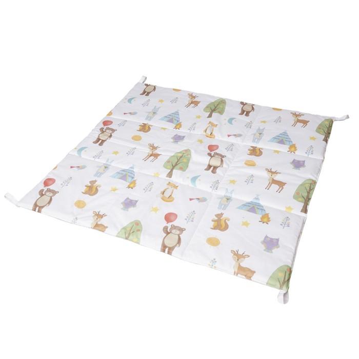 Игровой коврик для вигвама, хлопок, лесные жители