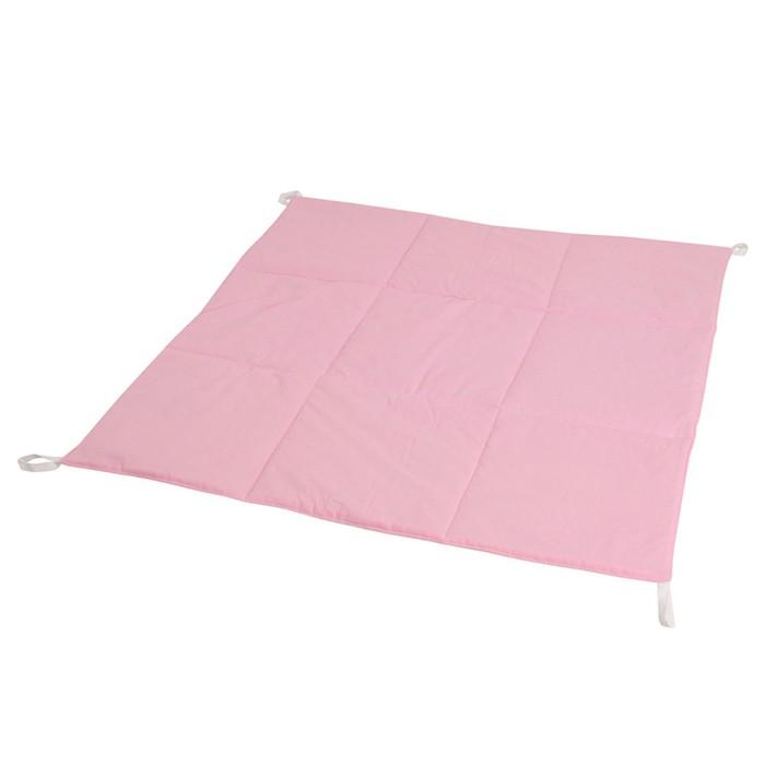 Игровой коврик для вигвама, хлопок, розовый