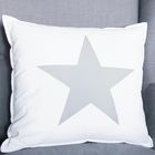 Игрушка- Подушка декоративная, хлопок, звезда №4, 40 х 40 см