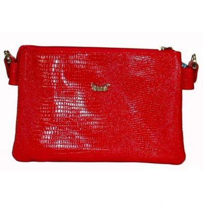 361b9cbc4c8f Сумка женская, отделение на молнии, наружный карман, плечевой ремень, цвет  красный