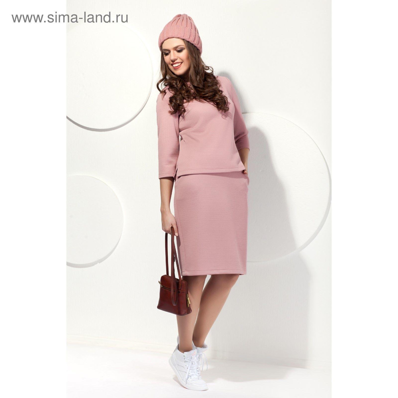 Юбка женская, размер 54, цвет пудровый Ю-459 1 (2337740) - Купить по ... 8bc7280b932