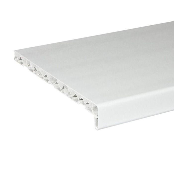 Подоконник ПВХ,белый, 1500х300 мм